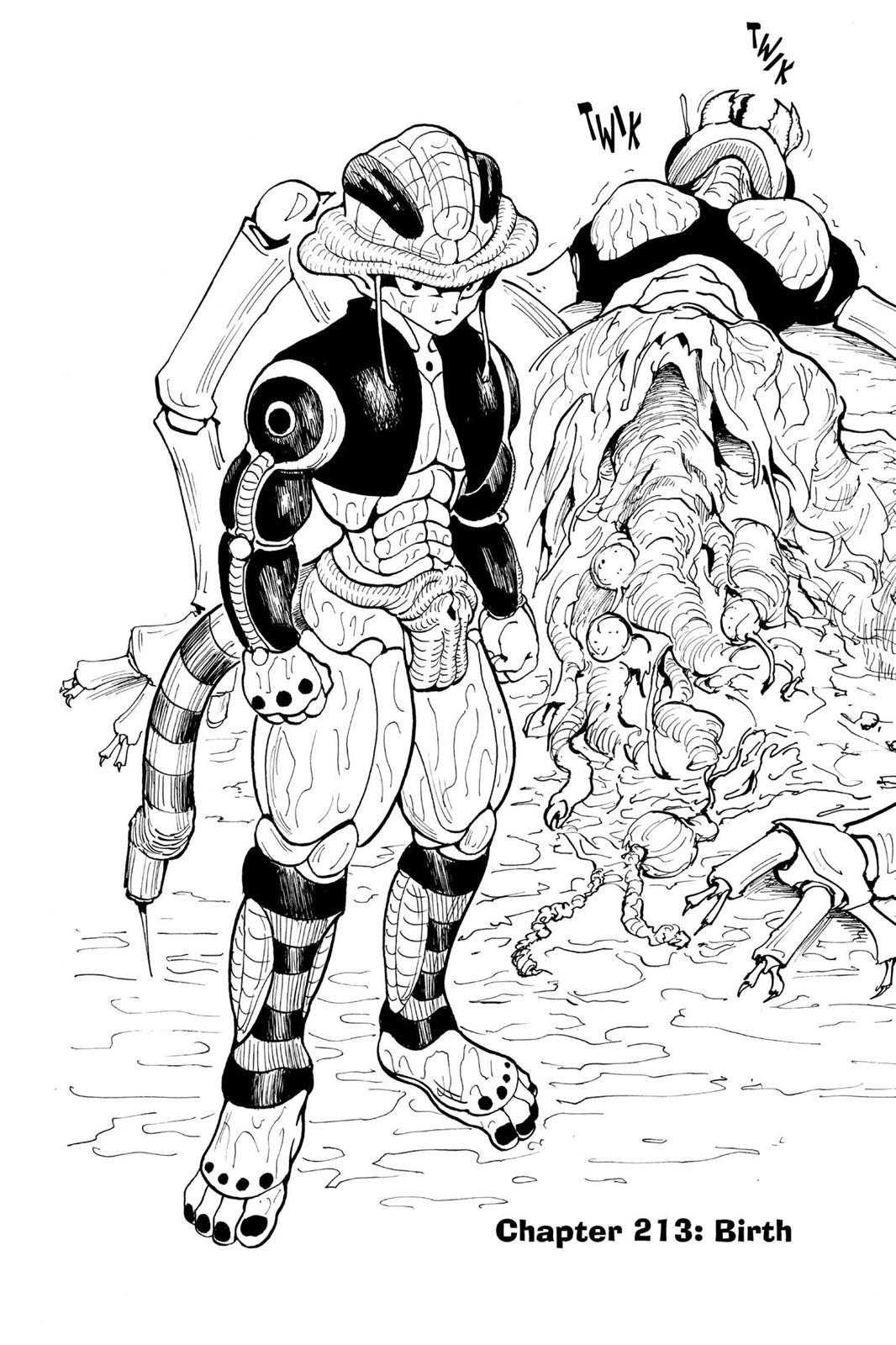 Hunter X Hunter, Chapter 213 image 002
