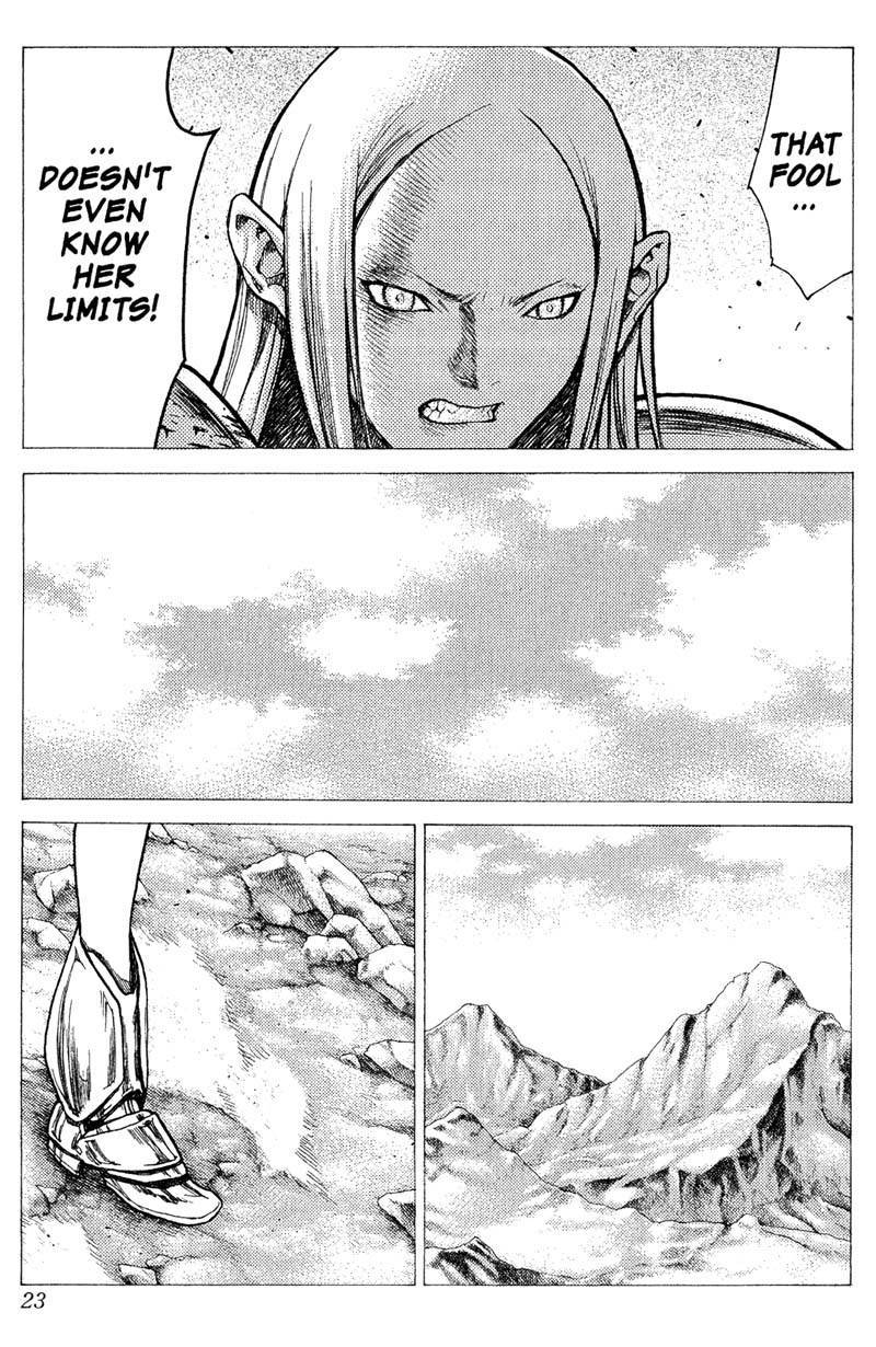 Claymore, Chapter 22 image 023