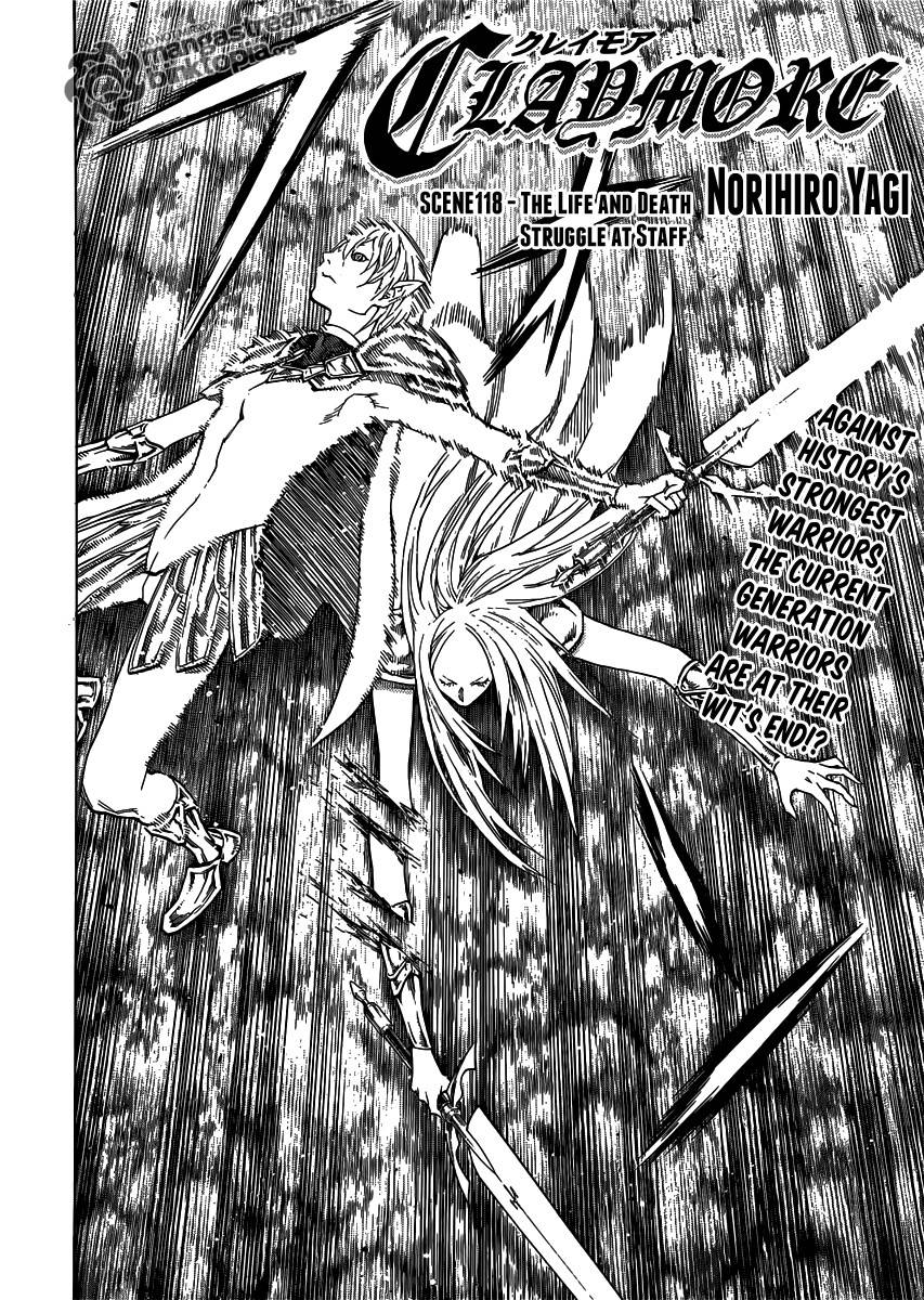 Claymore, Chapter 118 image 003