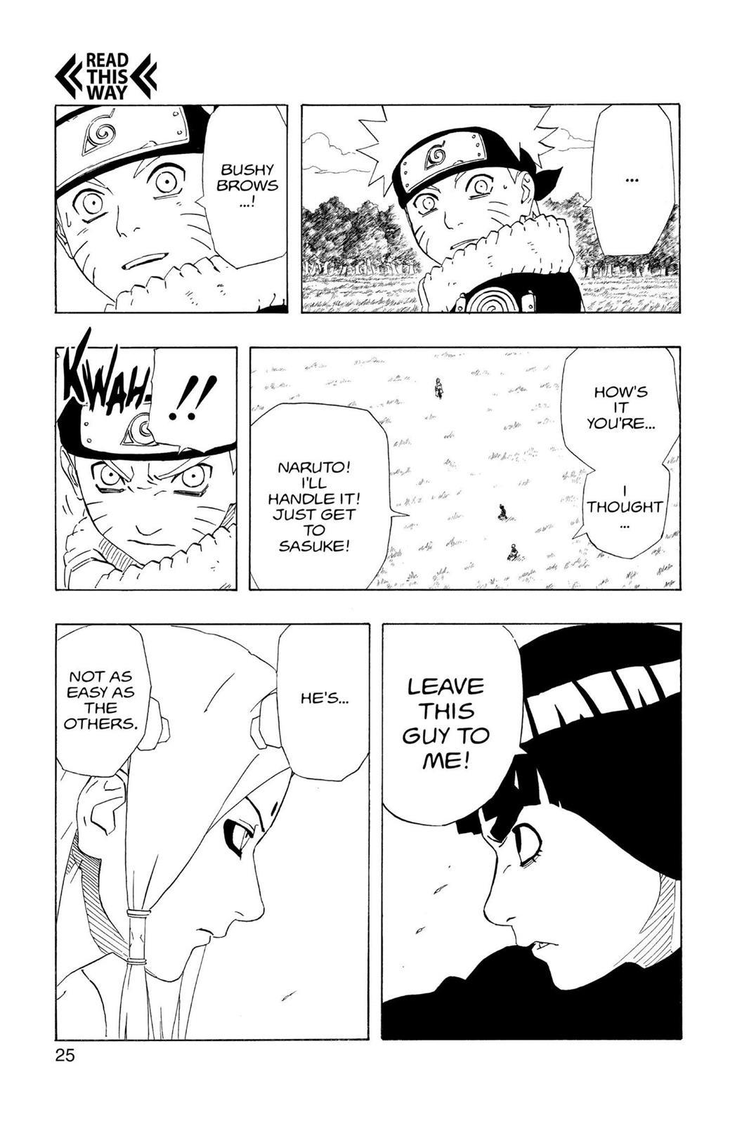 Naruto, Chapter 209 image 025