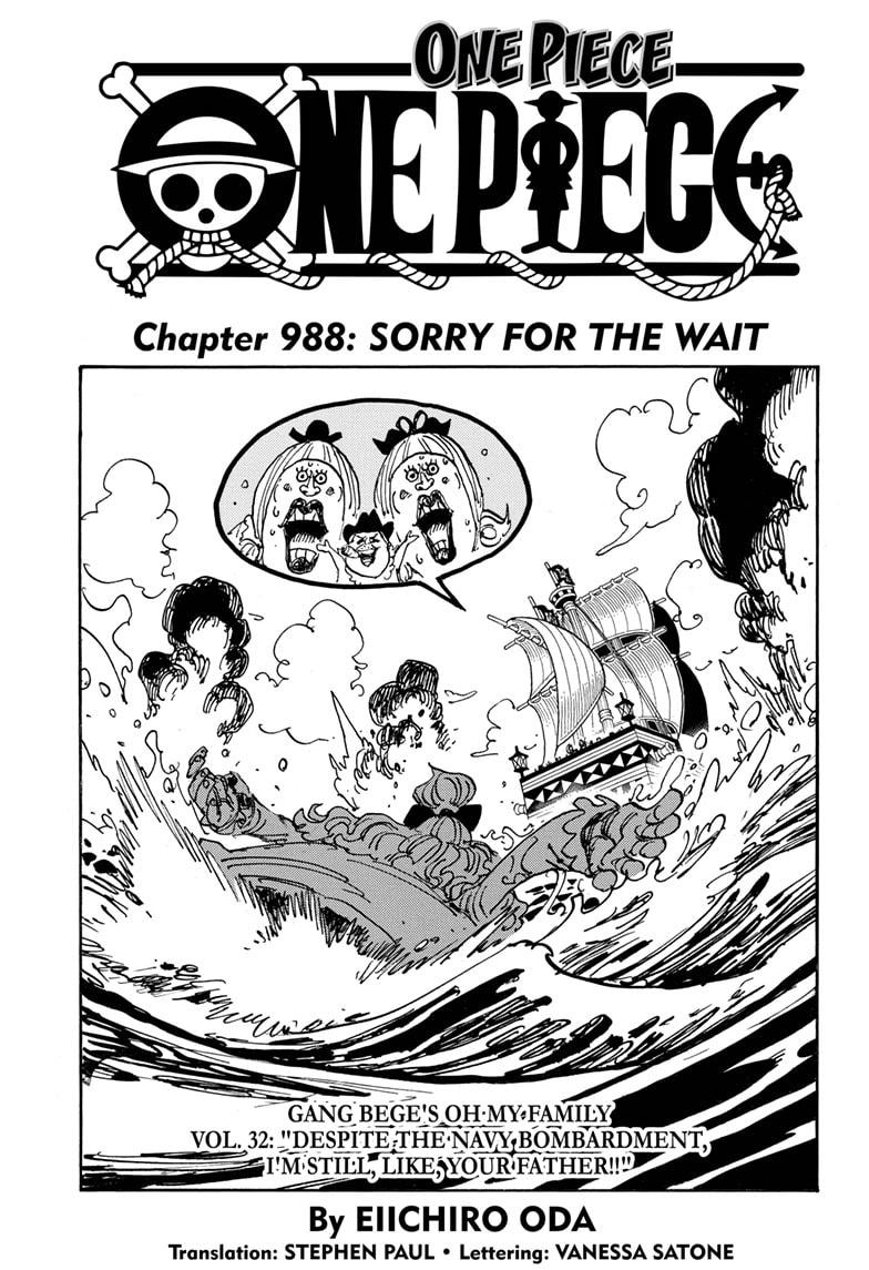 One Piece, Chapter 988 image 001
