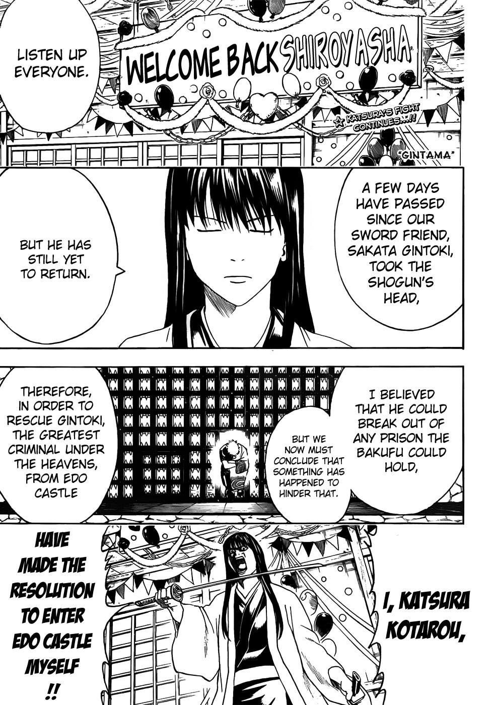 Gintama Chapter, 415 image 001
