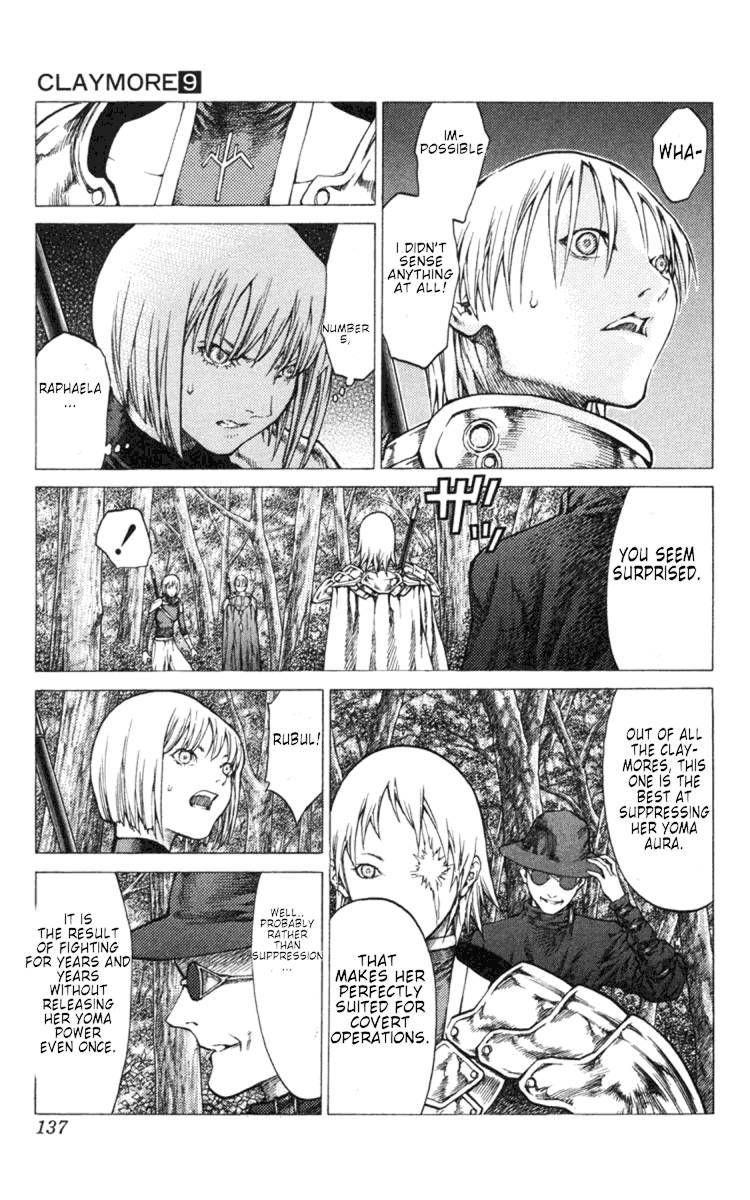 Claymore, Chapter 50 image 010