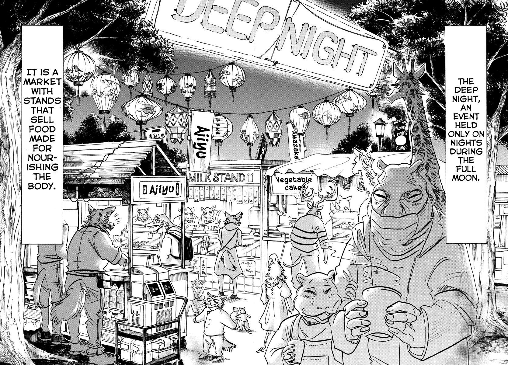 Beastars Manga, Chapter 135 image 010