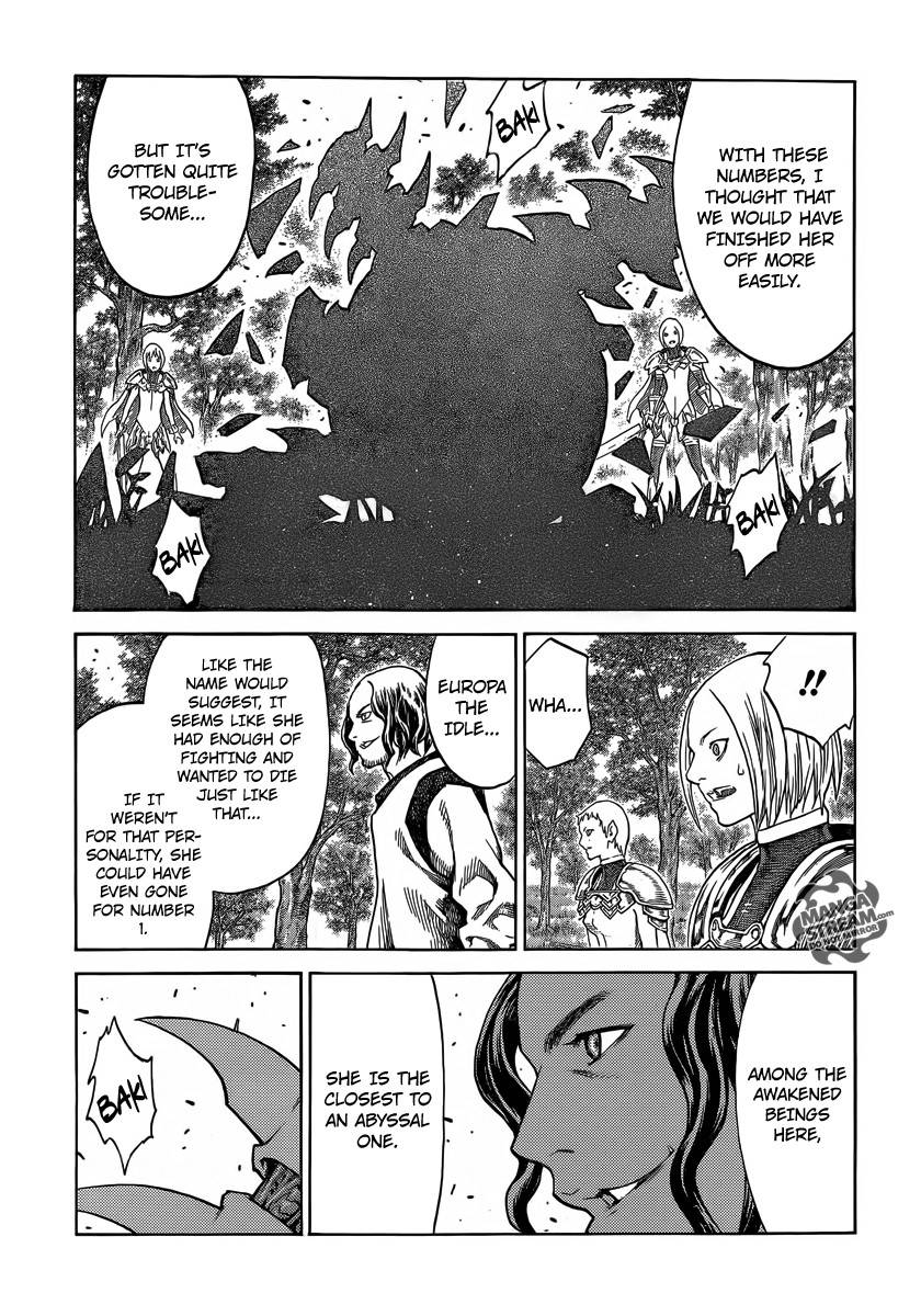 Claymore, Chapter 137 image 009