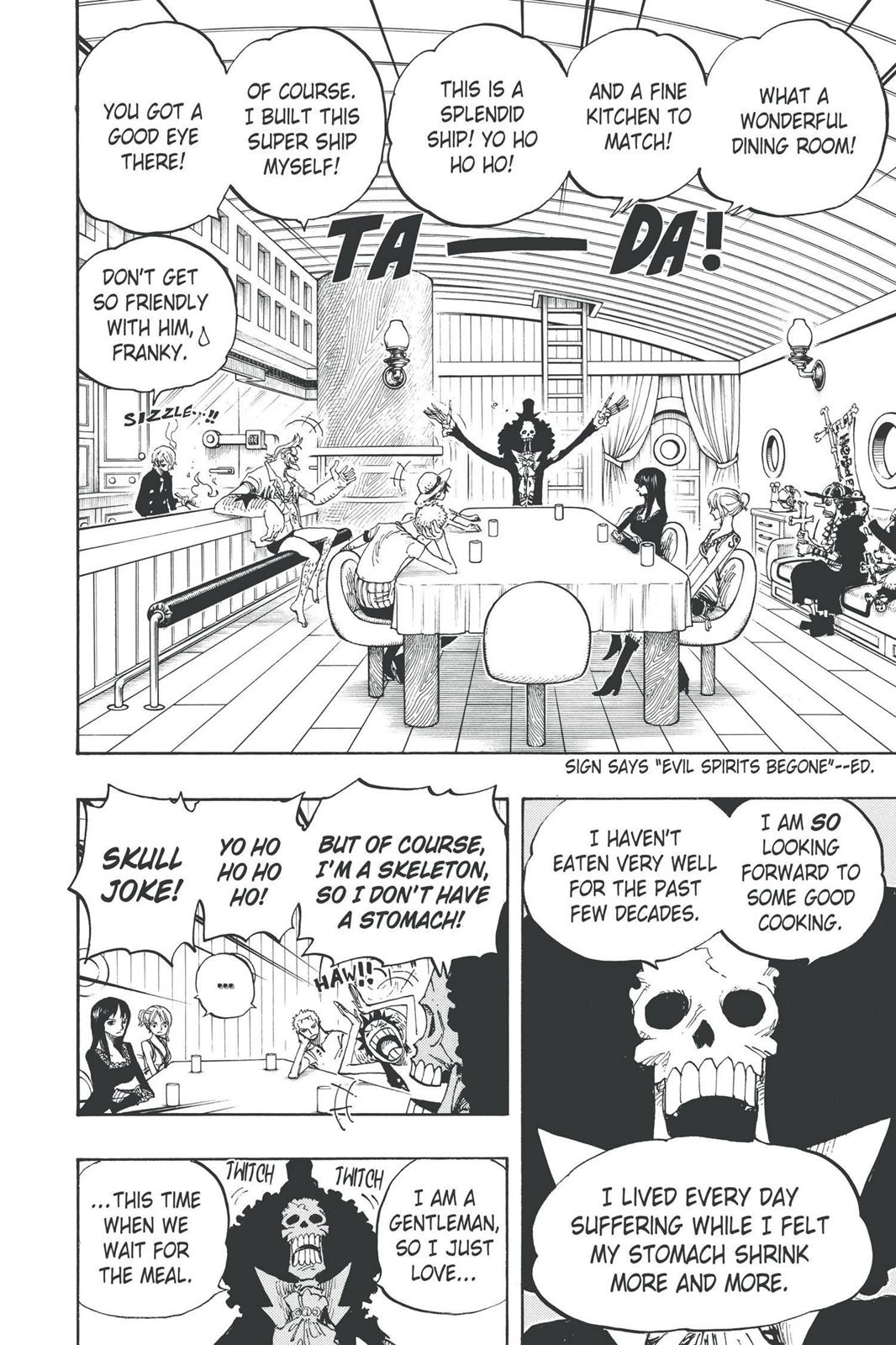 One Piece, Chapter 443 image 004