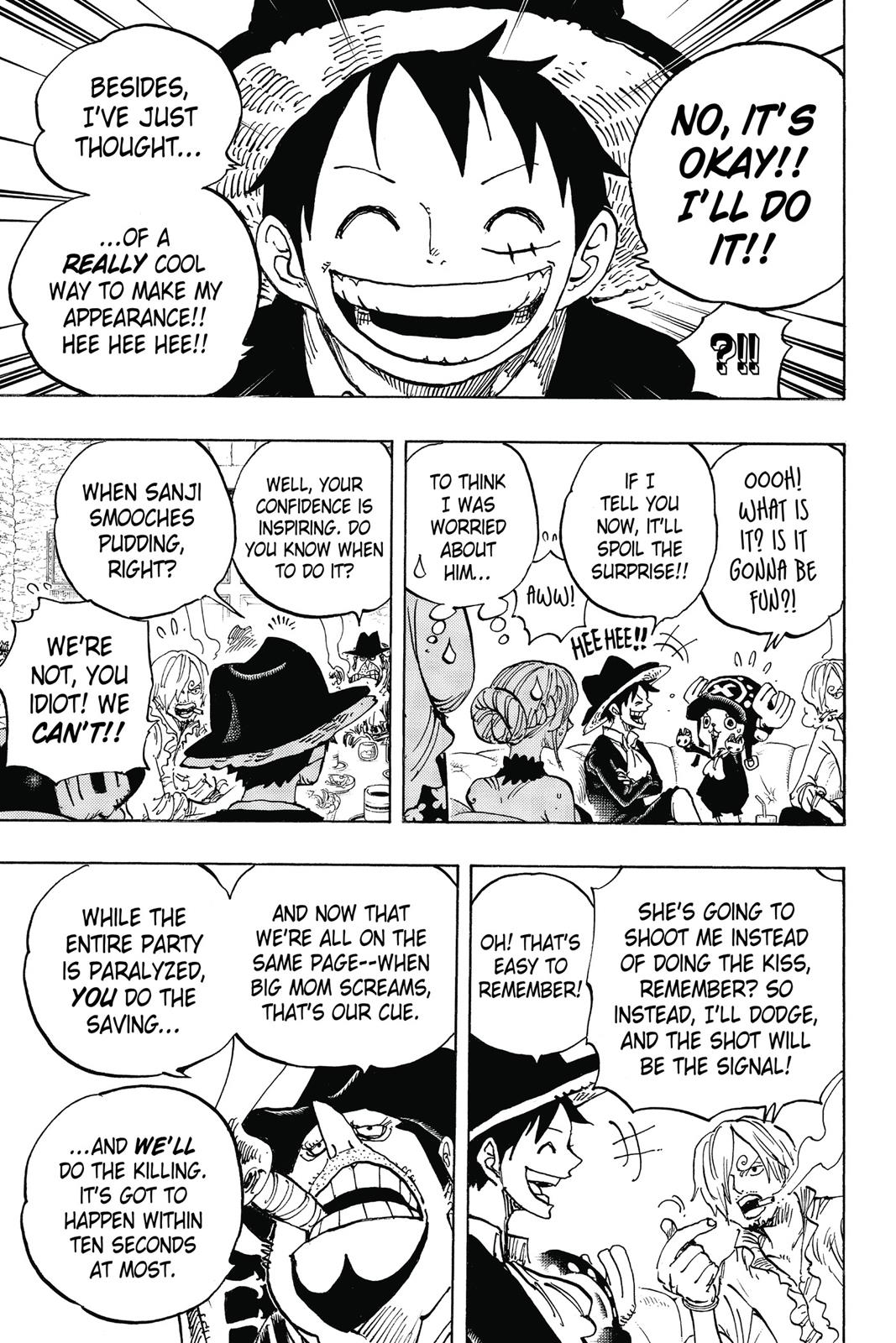 One Piece, Chapter 859 image 016
