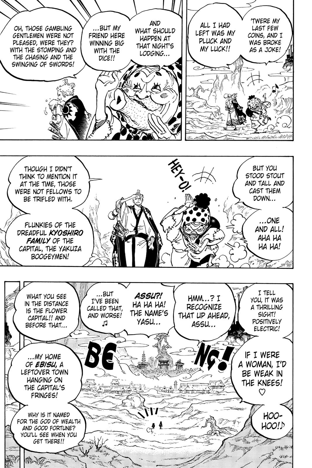 One Piece, Chapter 929 image 009