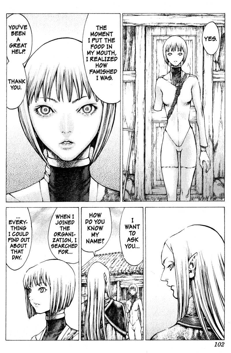 Claymore, Chapter 37 image 013