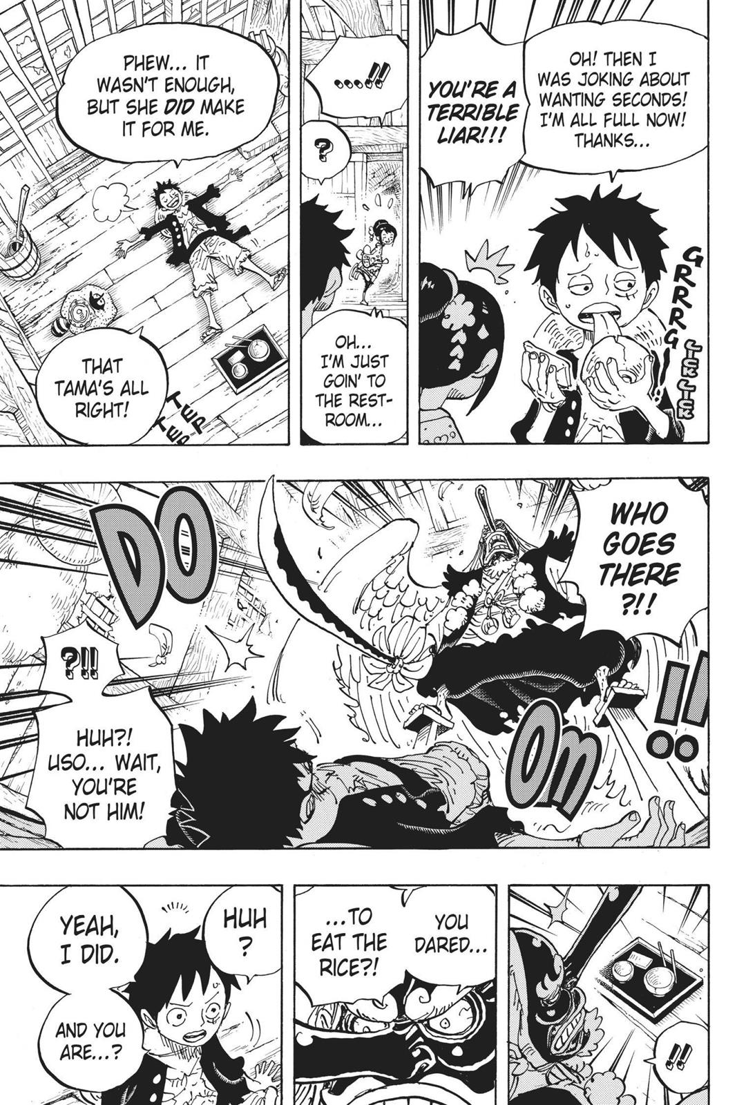 One Piece, Chapter 911 image 022