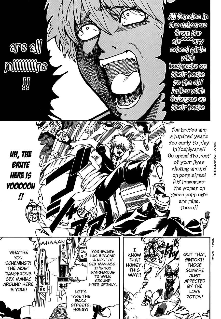 Gintama Chapter, 493 image 013