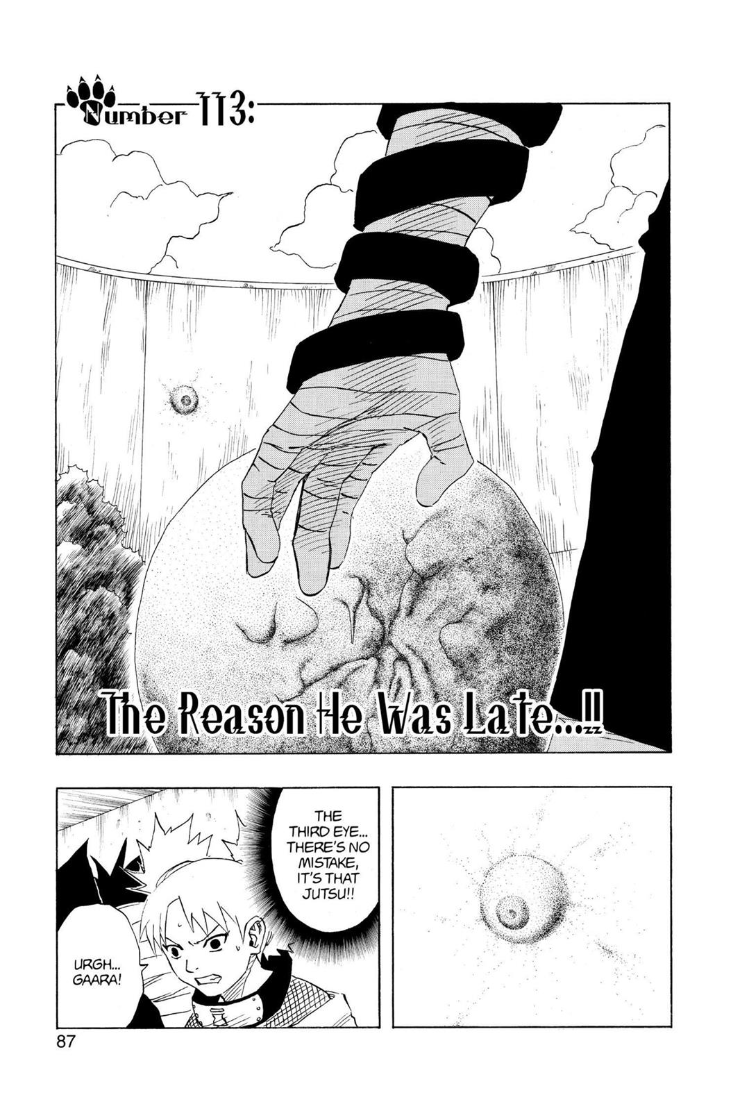 Naruto, Chapter 113 image 001