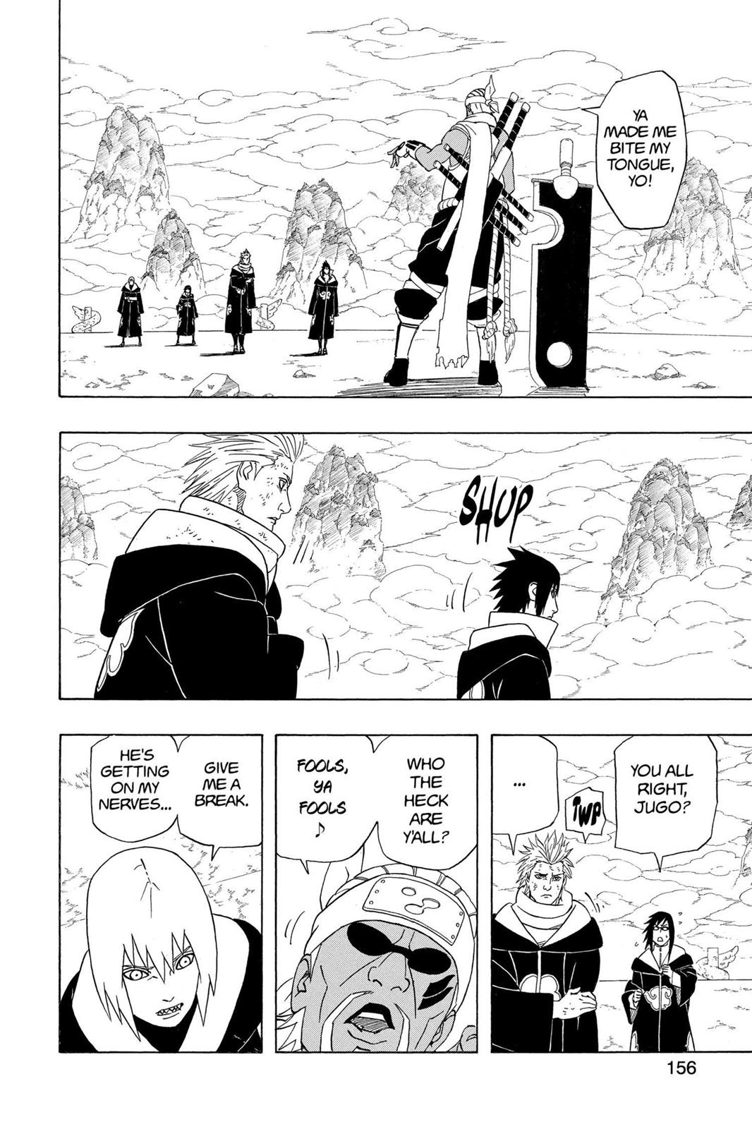 Naruto, Chapter 411 image 003