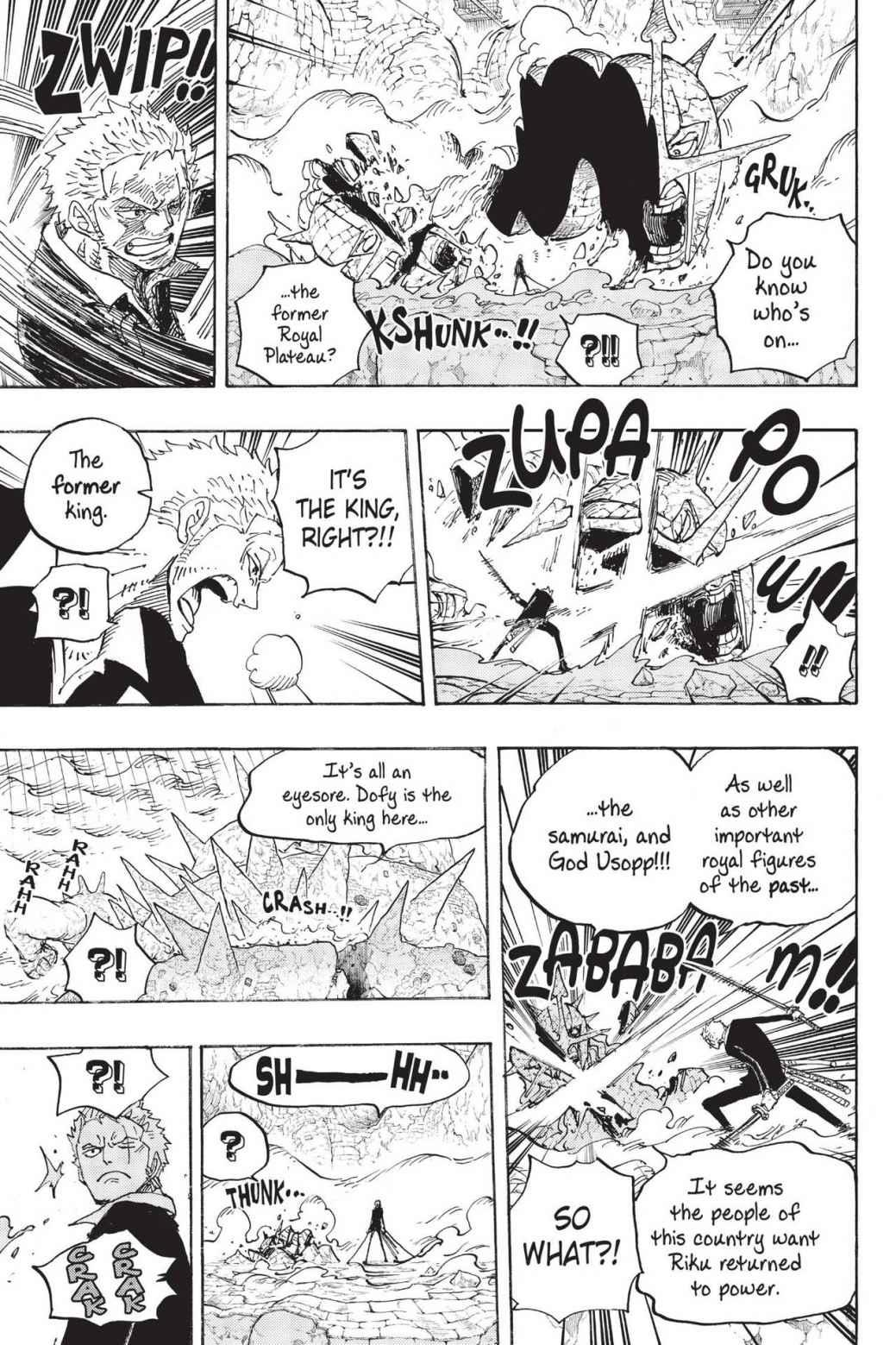 One Piece, Chapter 777 image 015
