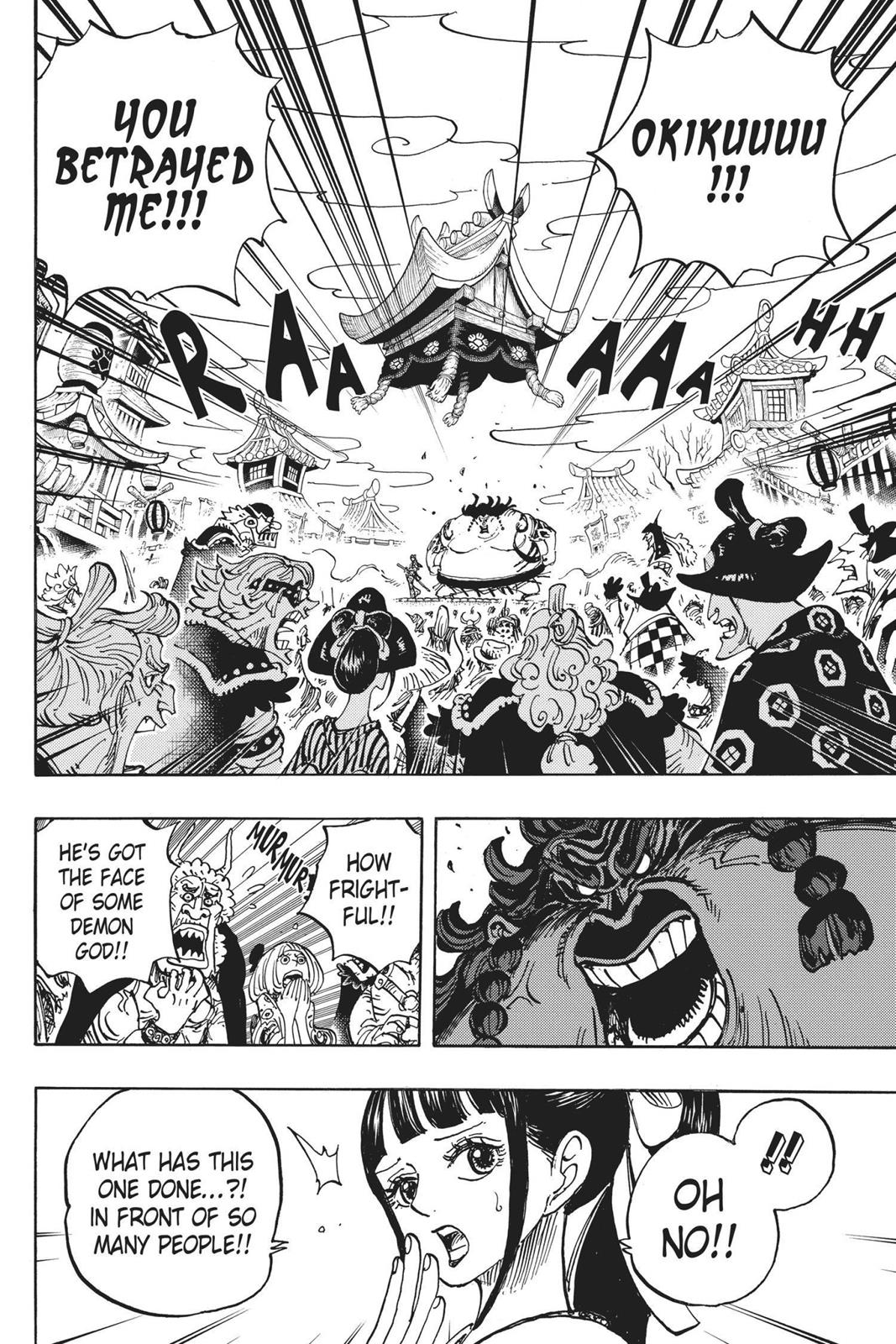 One Piece, Chapter 916 image 004