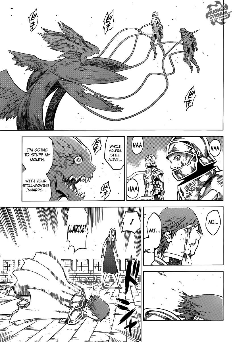 Claymore, Chapter 141 image 023
