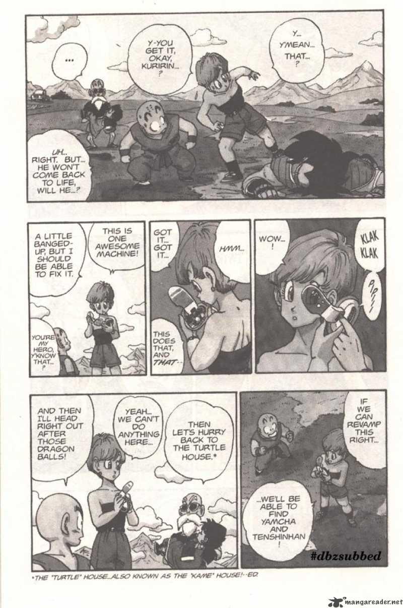 Dragon Ball, Chapter 205 image 003