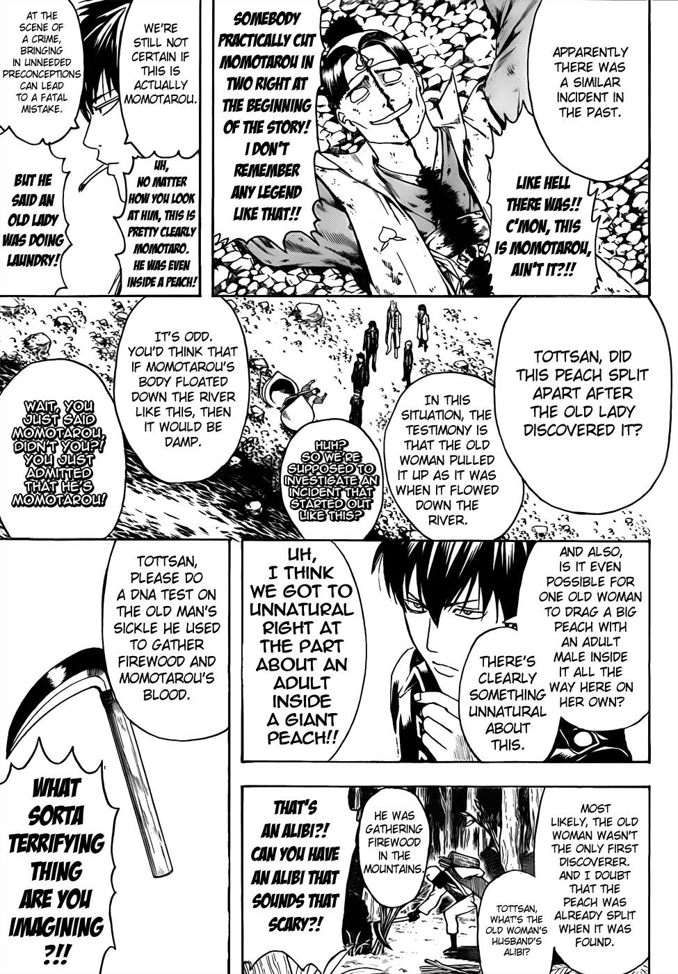 Gintama Chapter, 435 image 009