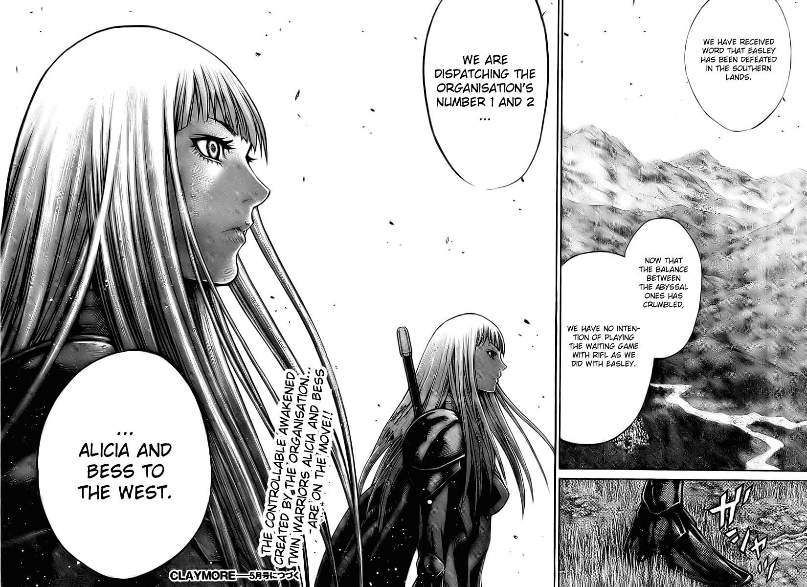 Claymore, Chapter 89 image 028