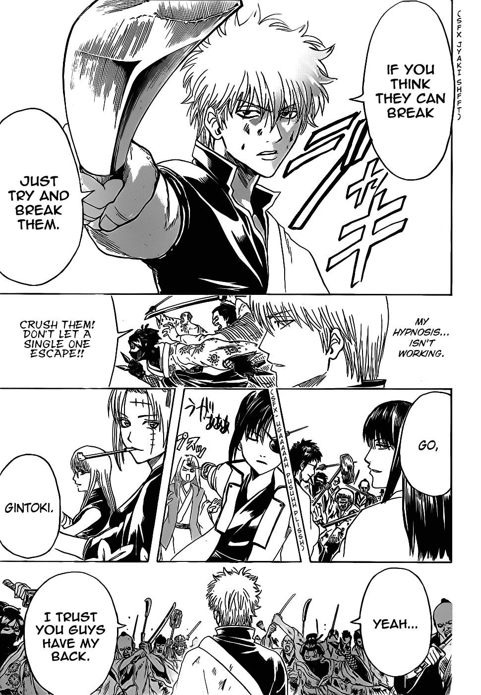 Gintama Chapter, 378 image 015