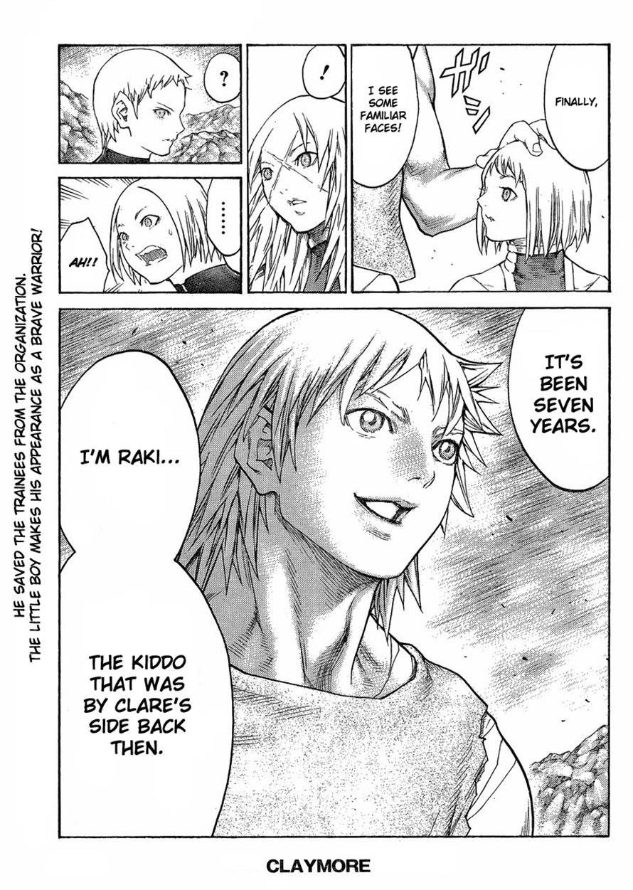 Claymore, Chapter 125 image 027