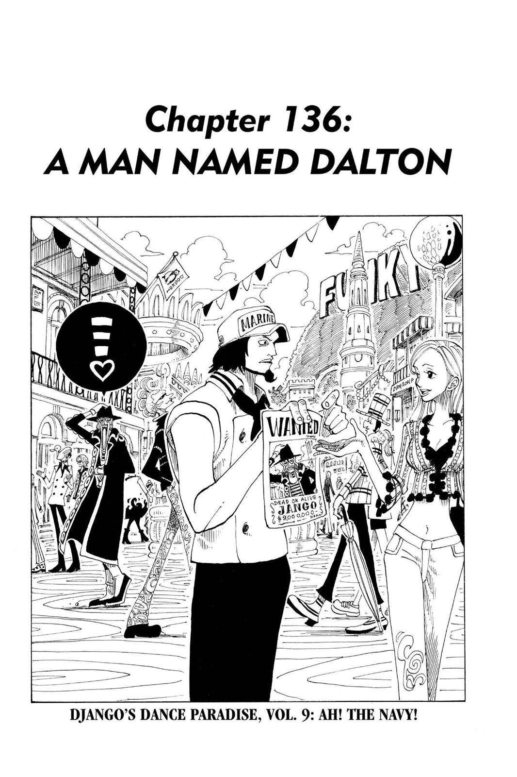 One Piece, Chapter 136 image 001