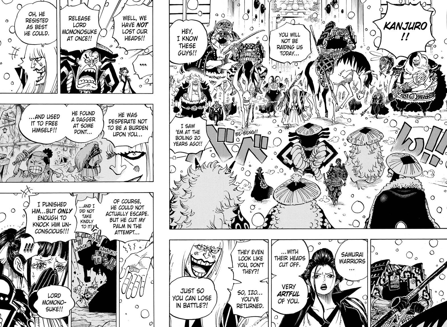 One Piece, Chapter 985 image 004