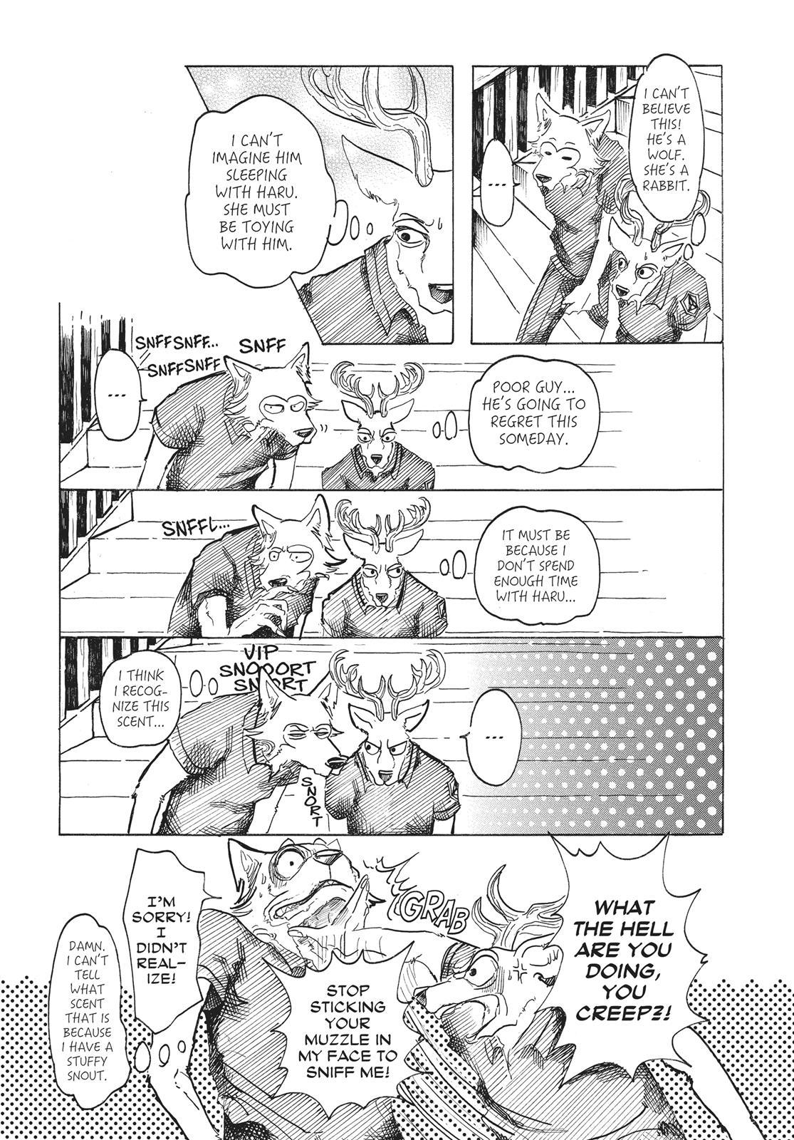 Beastars Manga, Chapter 27 image 007