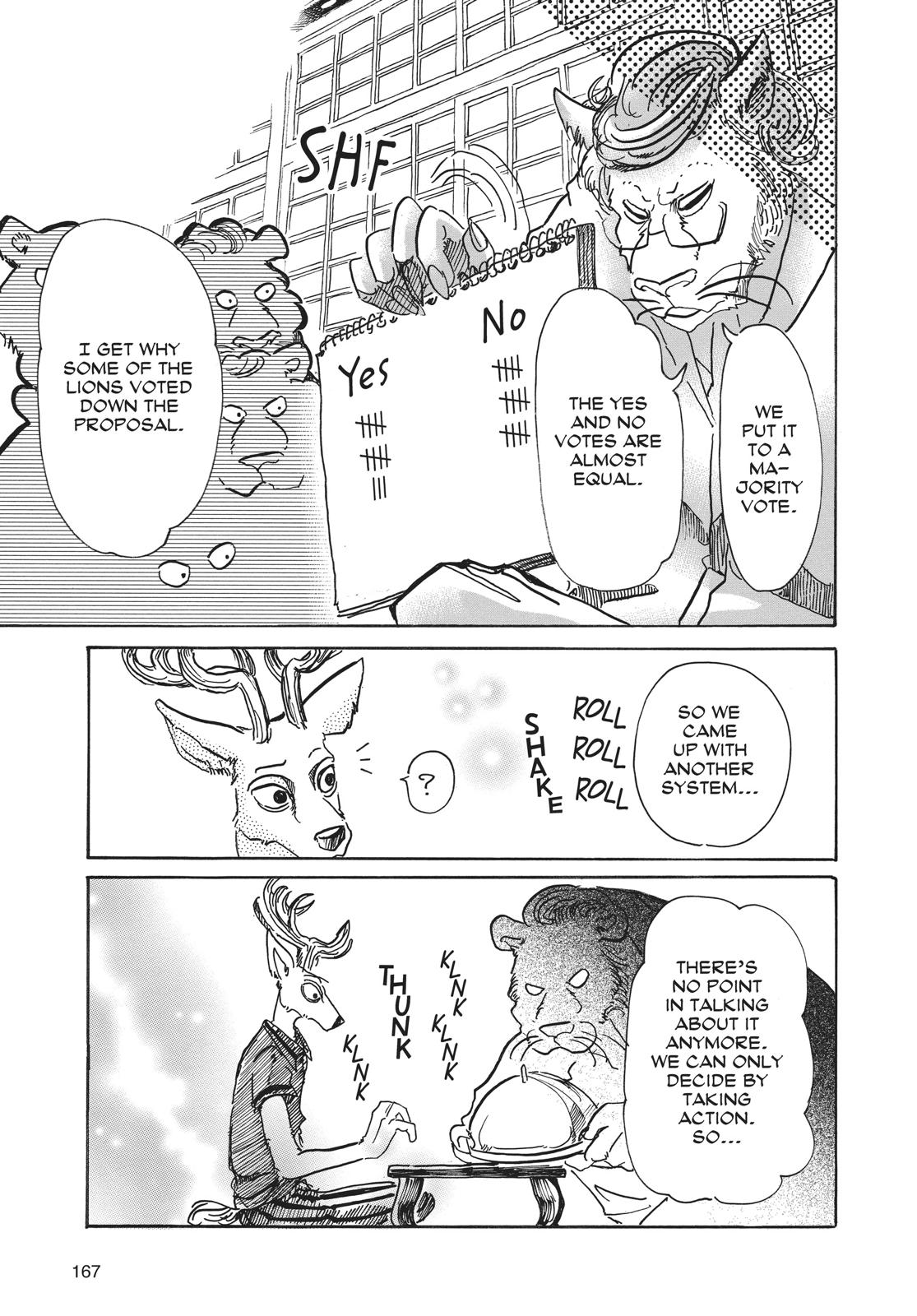 Beastars Manga, Chapter 51 image 013