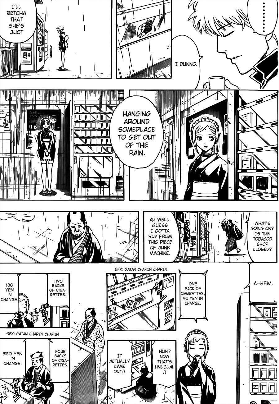 Gintama Chapter, 498 image 009