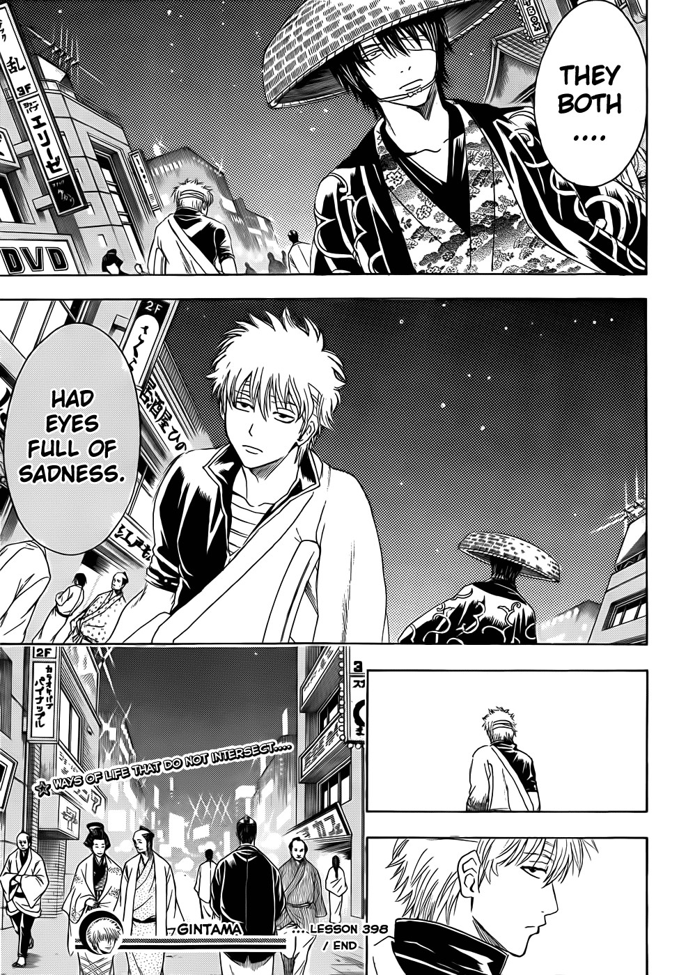 Gintama Chapter, 398 image 019
