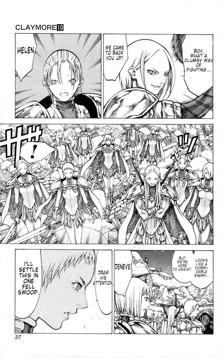 Claymore, Chapter 52 image 038