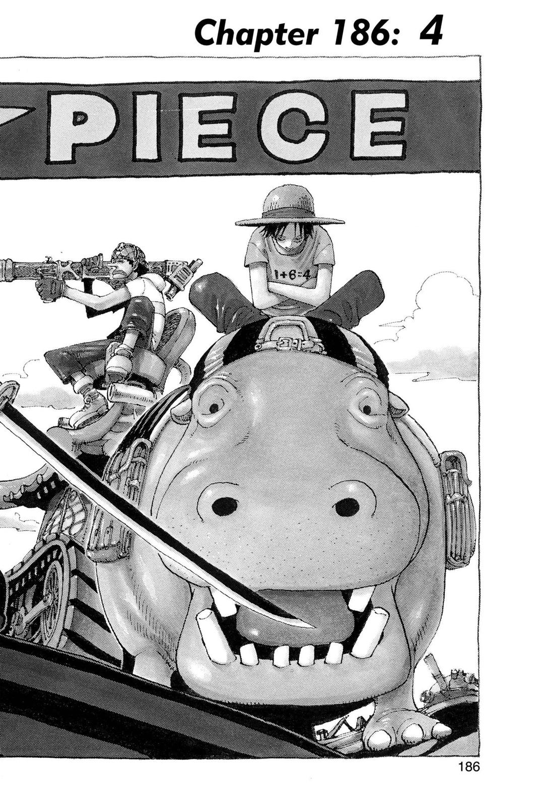 One Piece, Chapter 186 image 001