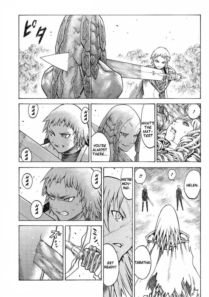 Claymore, Chapter 123 image 021