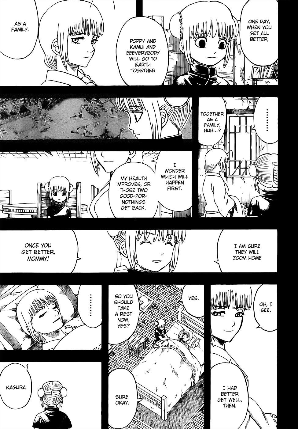 Gintama Chapter, 588 image 011