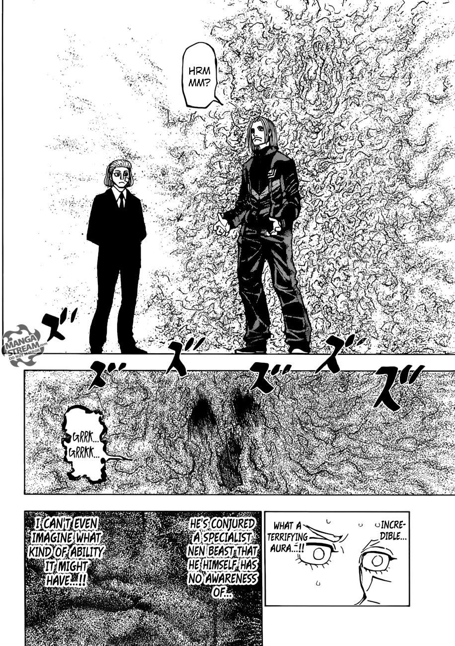 Hunter X Hunter, Chapter 384 image 011