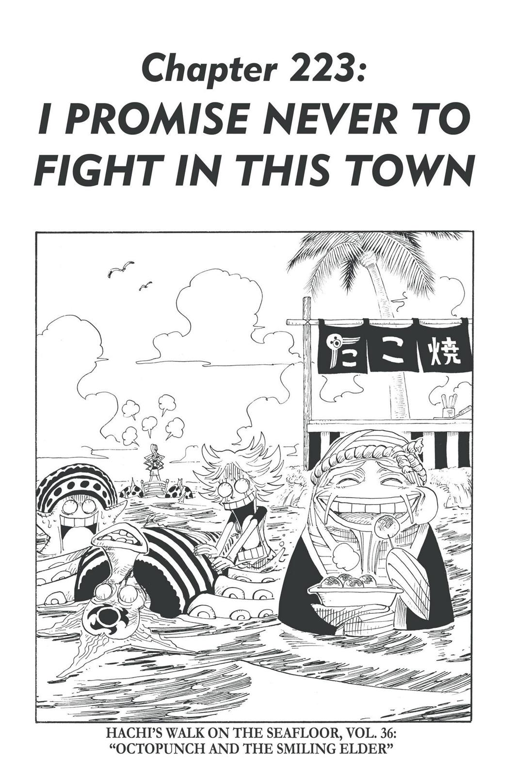 One Piece, Chapter 223 image 001
