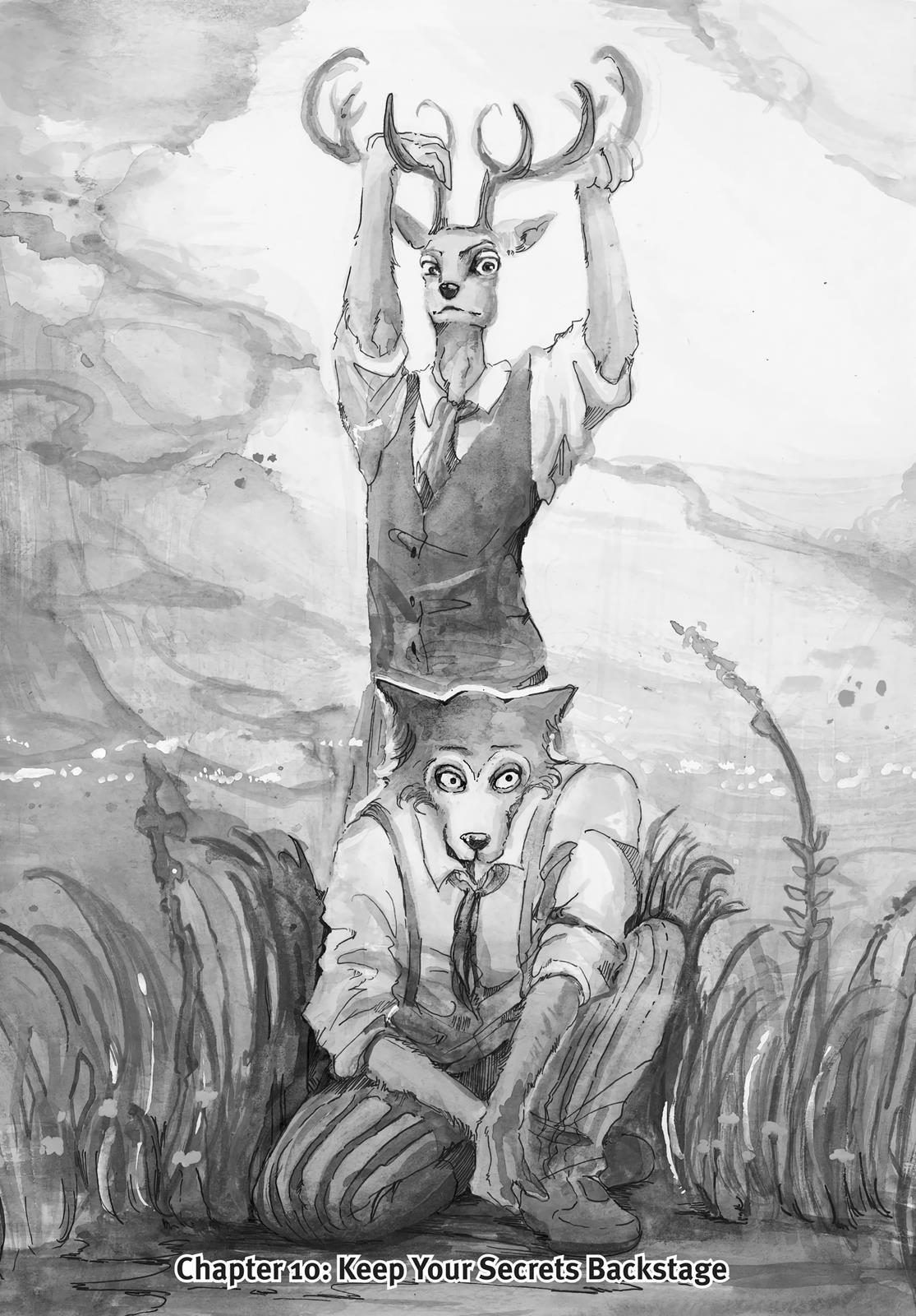Beastars Manga, Chapter 10 image 001