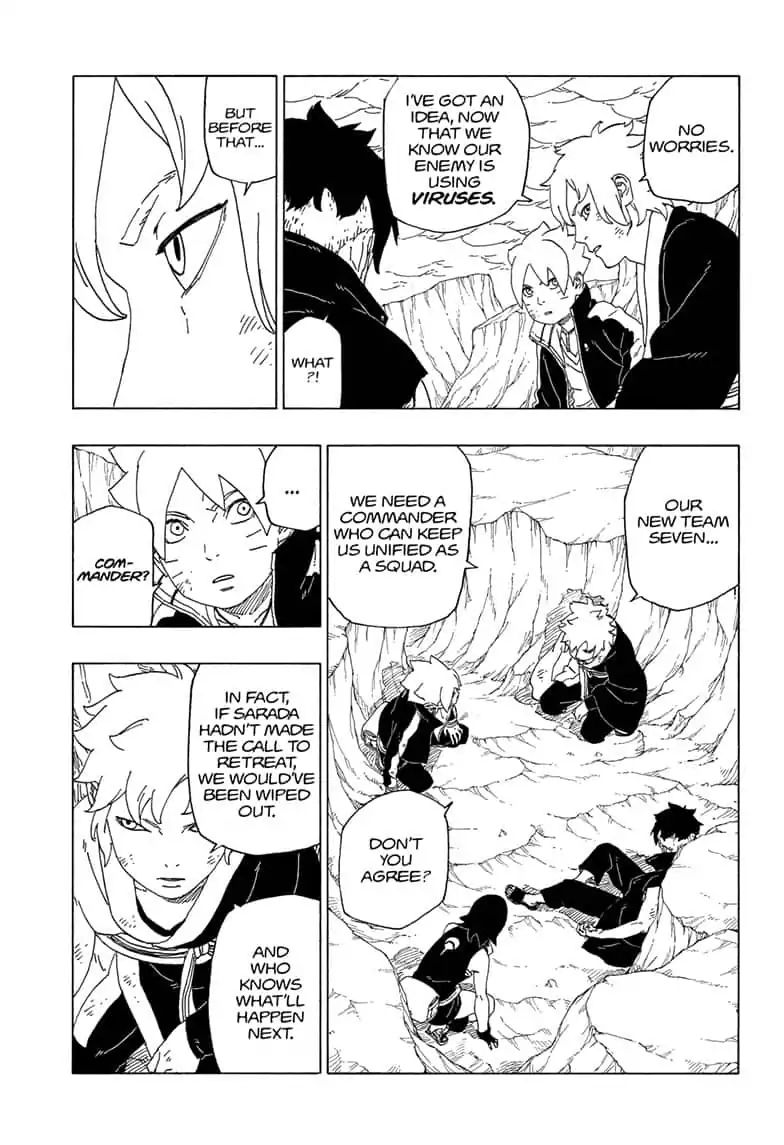 Boruto Manga, Chapter 41 image 009