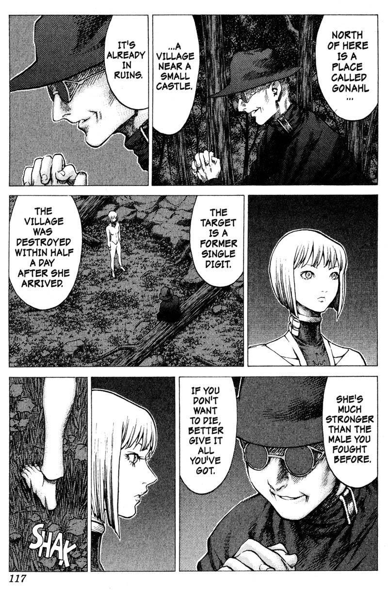 Claymore, Chapter 31 image 014
