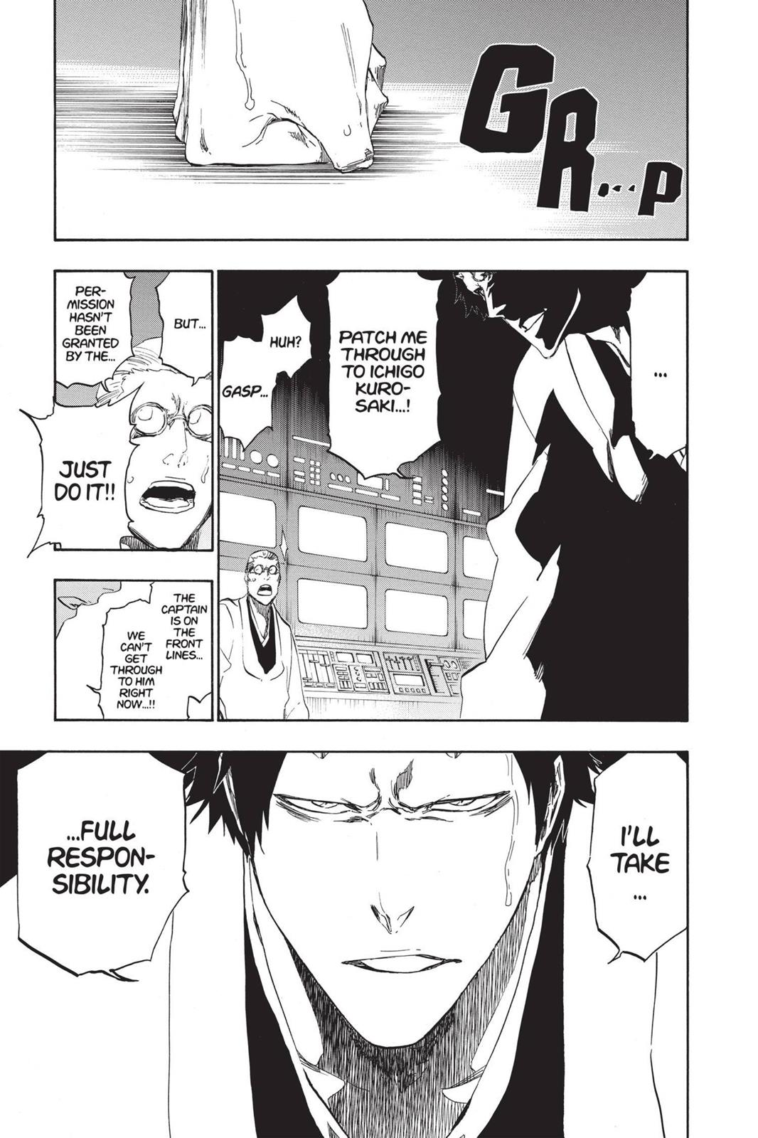 Bleach, Chapter 497 image 017