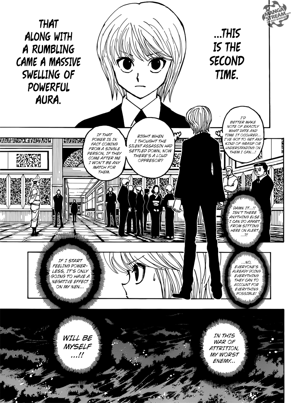Hunter X Hunter, Chapter 382 image 017