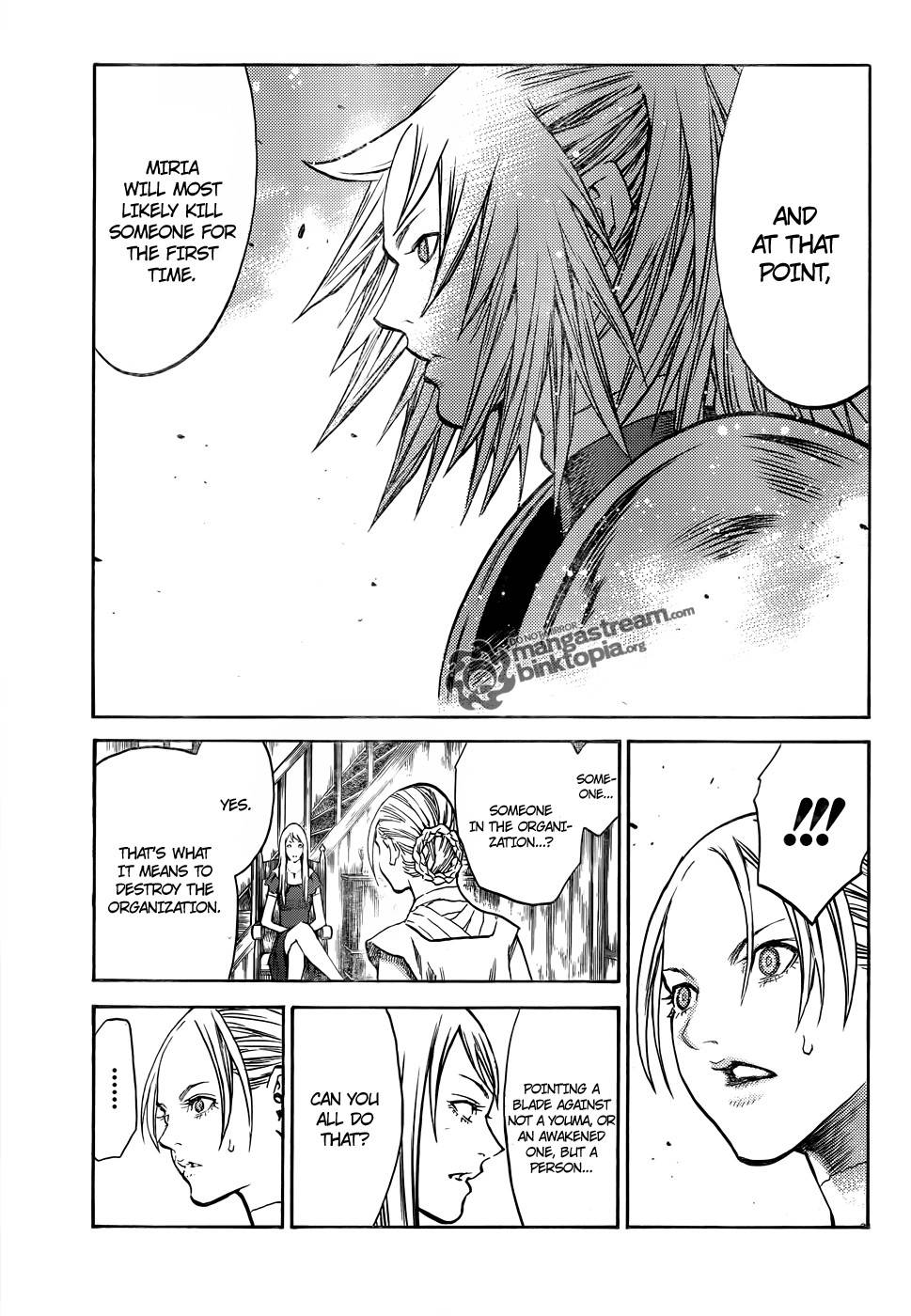 Claymore, Chapter 106 image 013
