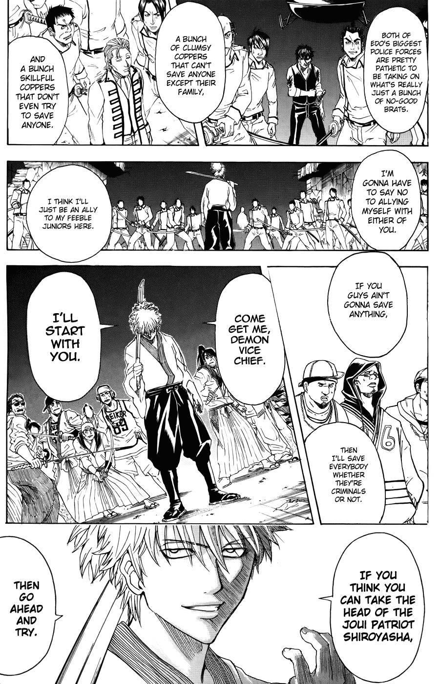 Gintama Chapter, 369 image 009