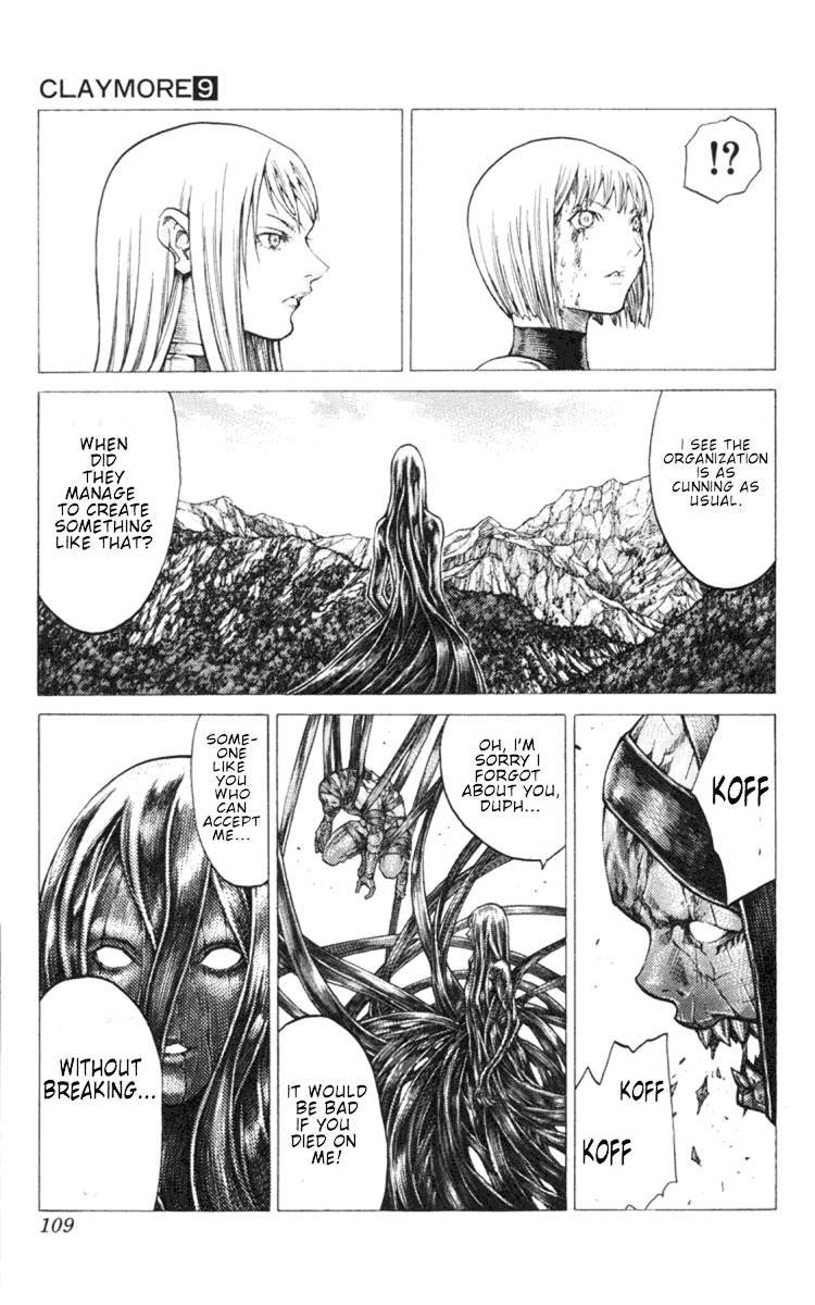 Claymore, Chapter 49 image 013
