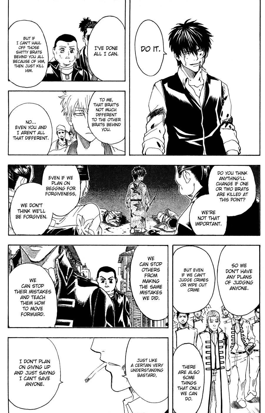 Gintama Chapter, 369 image 011