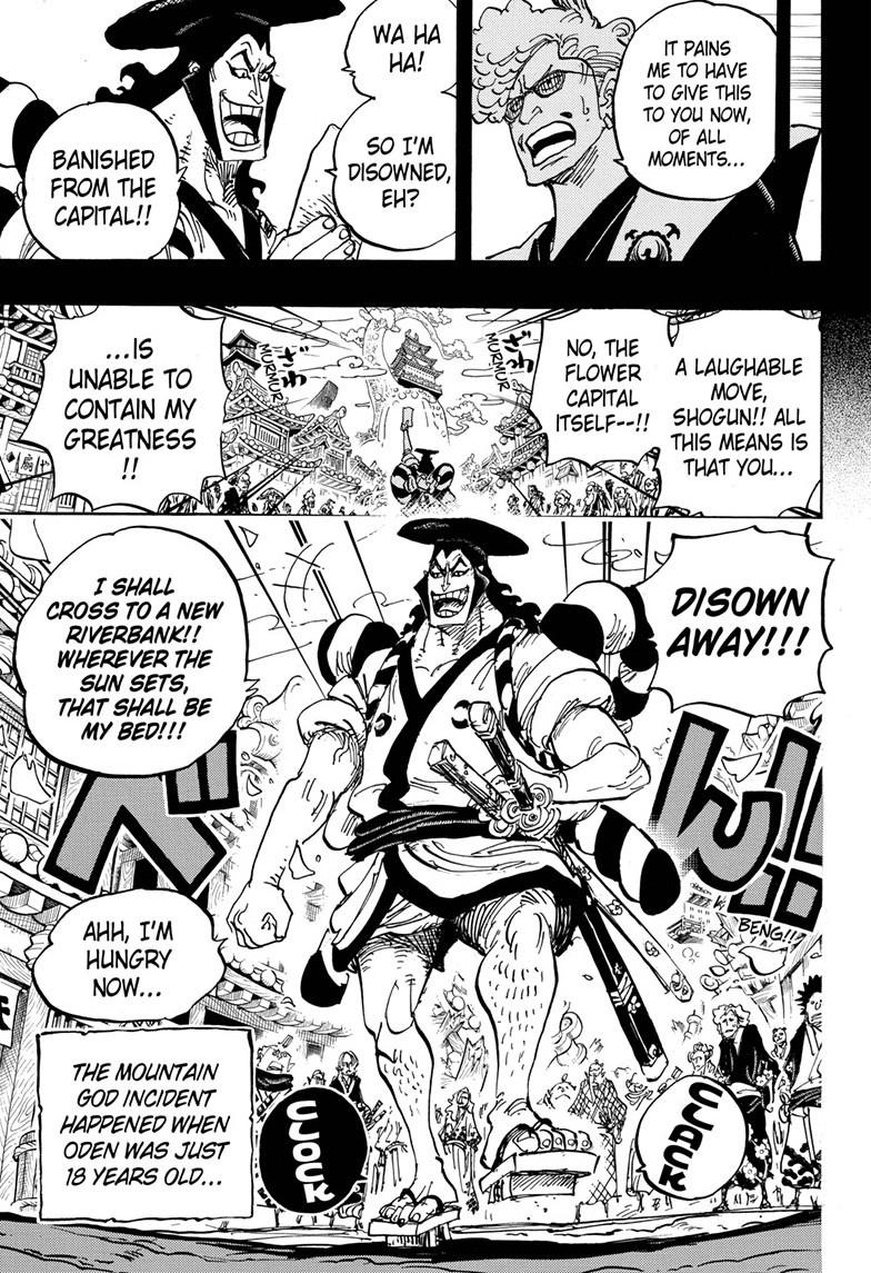 One Piece, Chapter 961 image 013