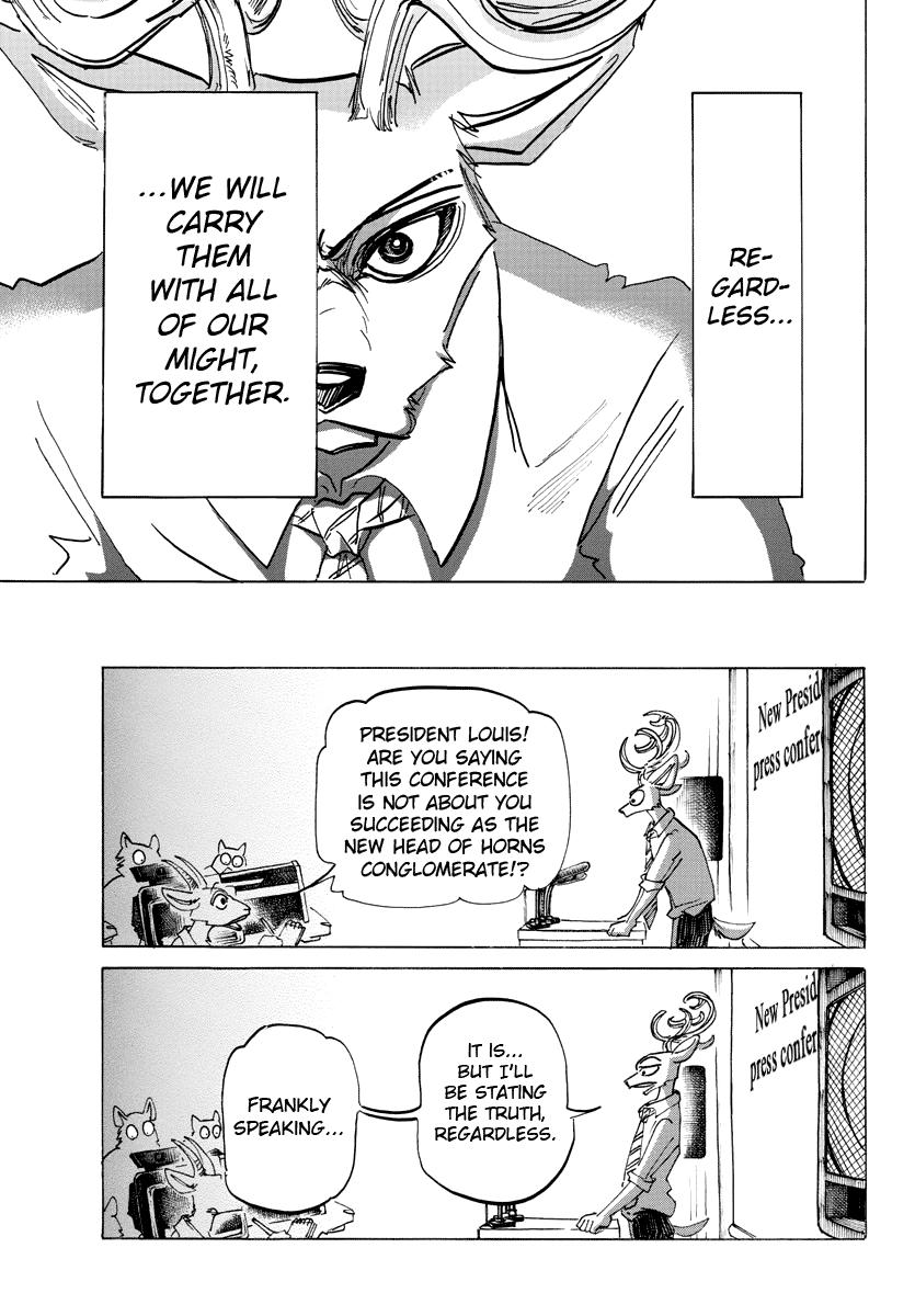 Beastars Manga, Chapter 182 image 005