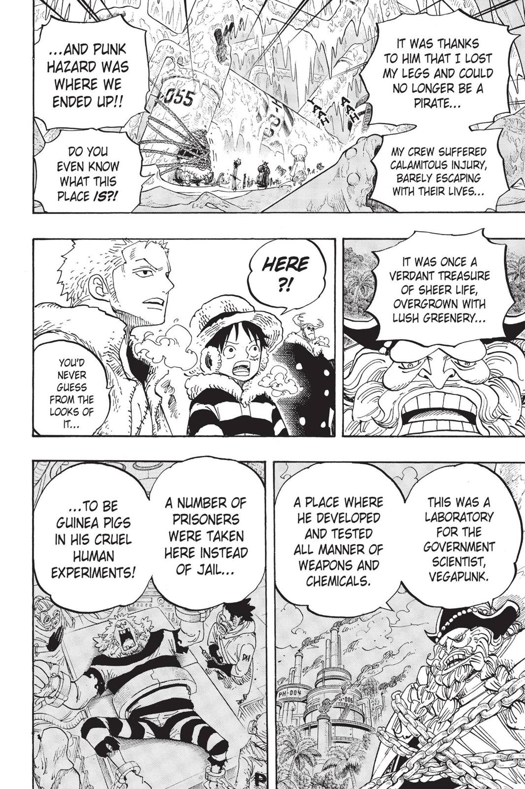 One Piece, Chapter 664 image 013