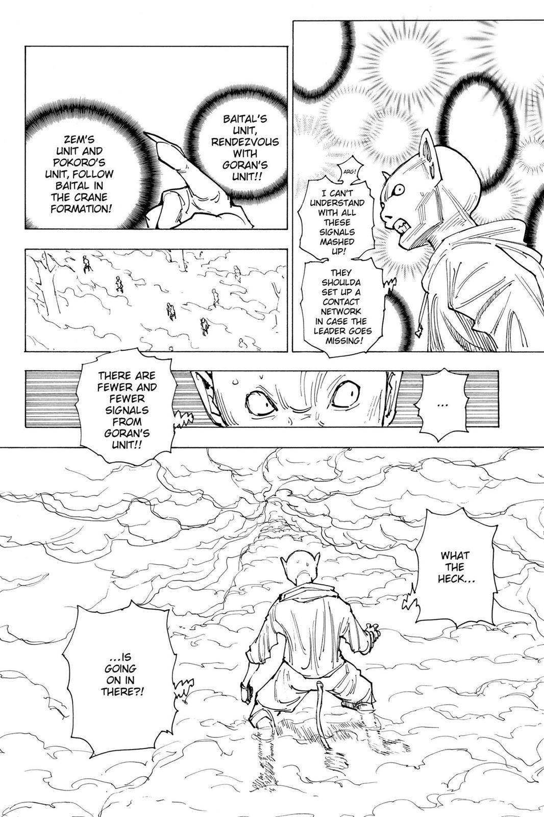 Hunter X Hunter, Chapter 205 image 012